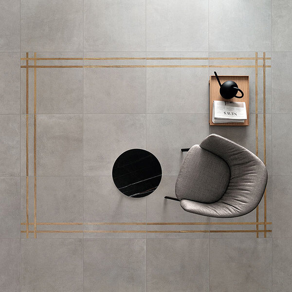 Керамогранит Fioranese Sfrido Cemento1 Bianco nat. rett.90x90